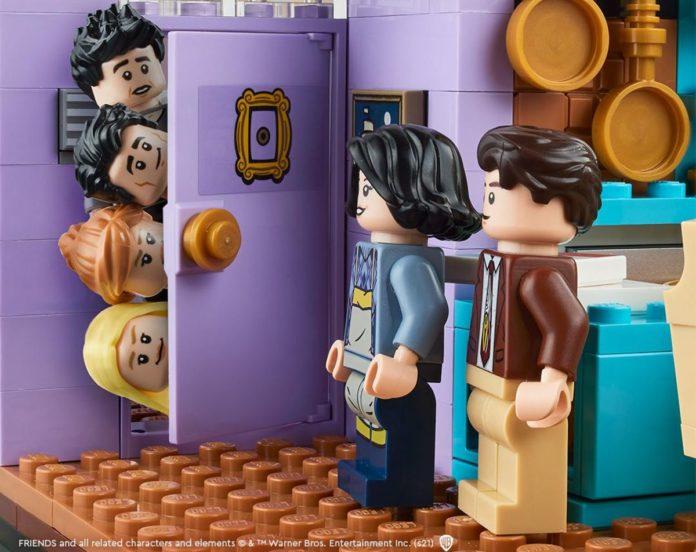 ¡Justo en la Nostalgia! Lego lanza set de Friends