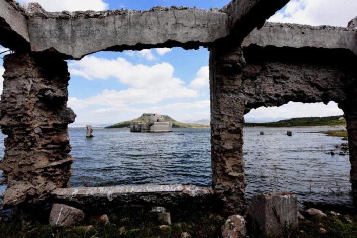 Guanajuato: sequía revela monumentos históricos