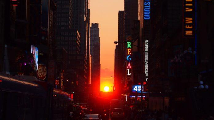 Manhattanhenge en Nueva York: ¿Qué es y cuándo verlo?
