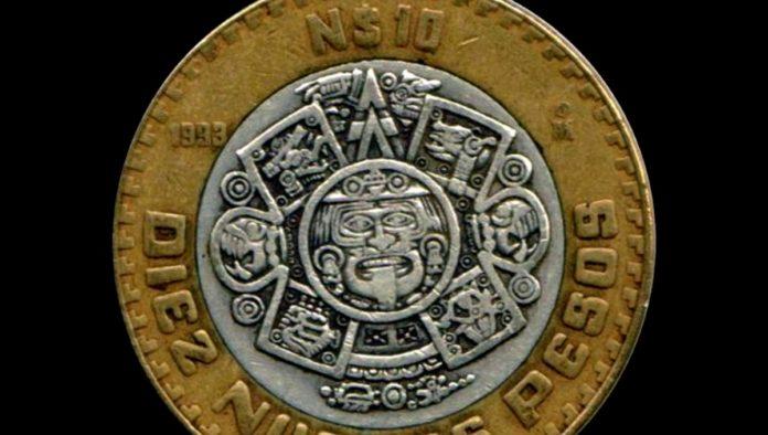 monedas de 10 pesos valen más por su cetro de plata