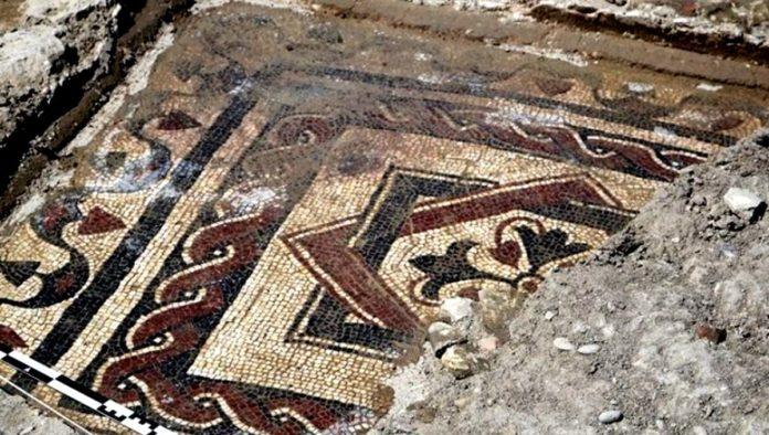 mosaico romano hallado en Navarra