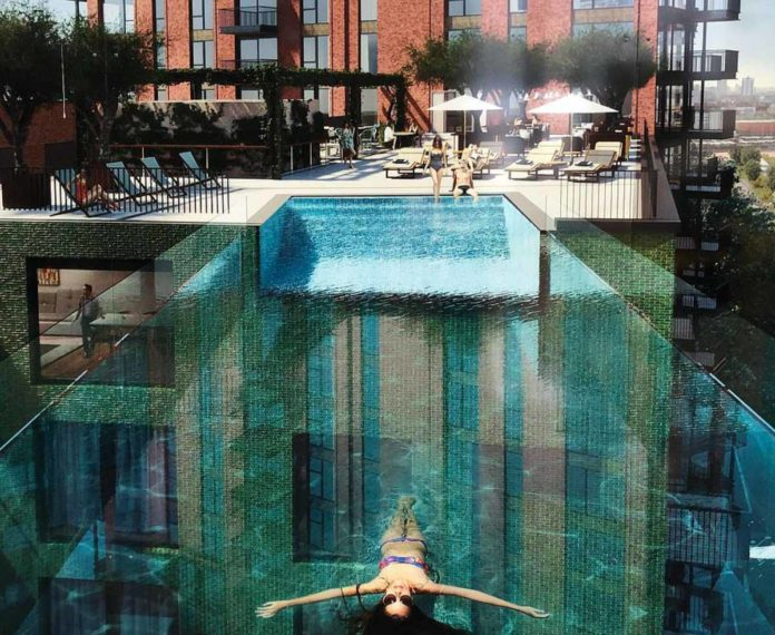 ¿Una piscina flotante? Así es Embassy Gardens Sky Pool