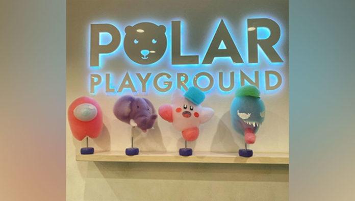 Polar Playground algodones de azúcar