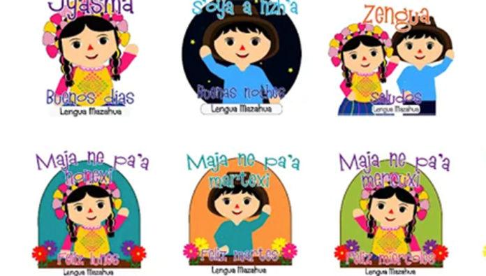 stickers whats app lenguas indígenas