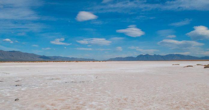 Sulfatos de Viesca, un paraíso surrealista de Coahuila