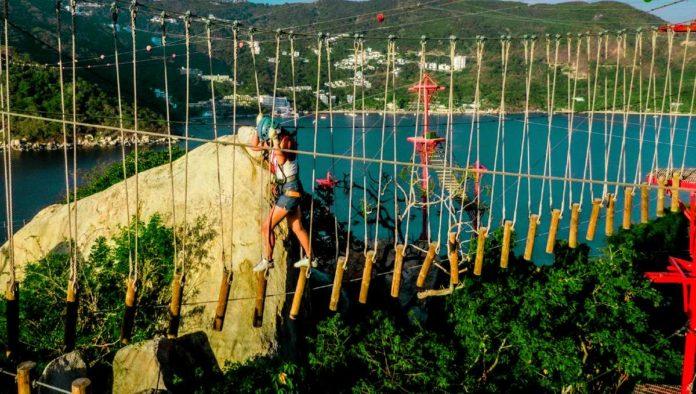 XMonkey parque de cuerdas extremo en Acapulco