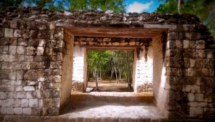 Conoce la Zona arqueológica de Balamkú, el imponente templo del jaguar