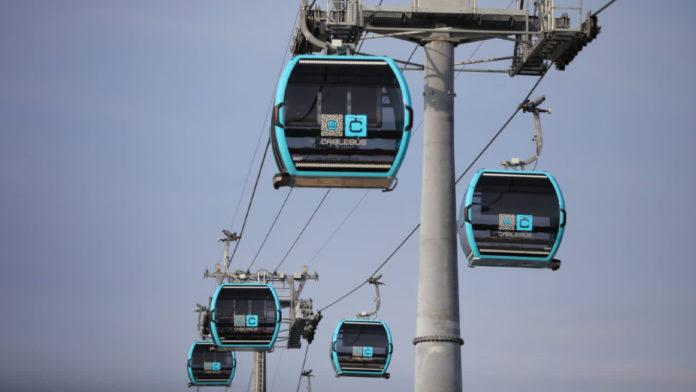 cablebús línea 1 y línea 2