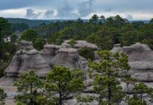Canteras de Durango y sus imponentes formaciones rocosas