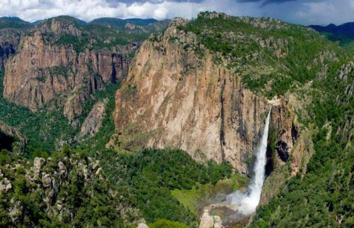 Se seca la cascada de Basaseachi, una de las más altas de México