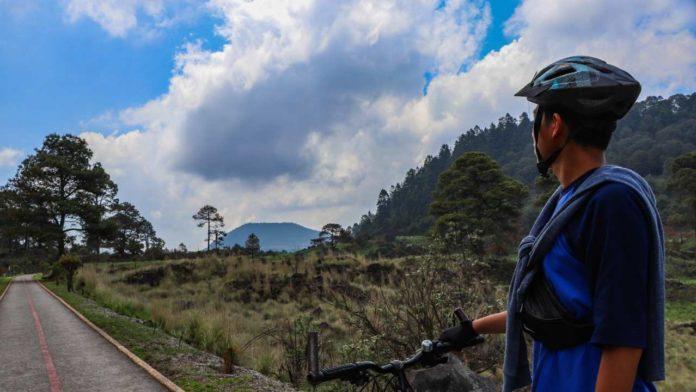 ciclovía rural tlalpan