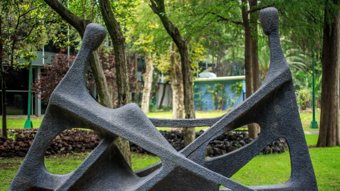 jardin en museos arte moderno
