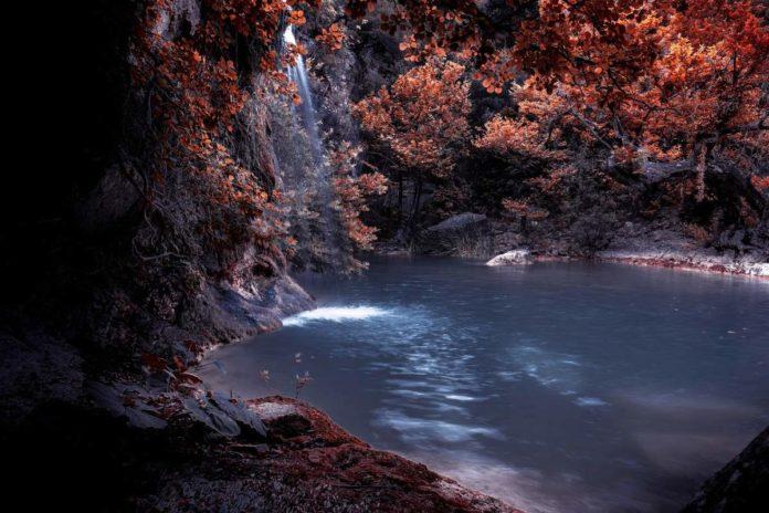 La Laguna Azul, un sitio mágico de película