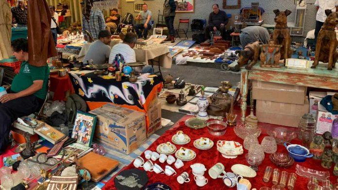 lagunilla mercado antigüedades