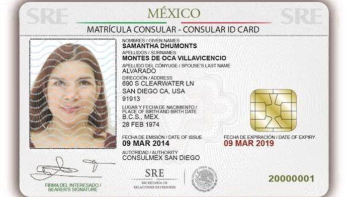 matricula consular mexico