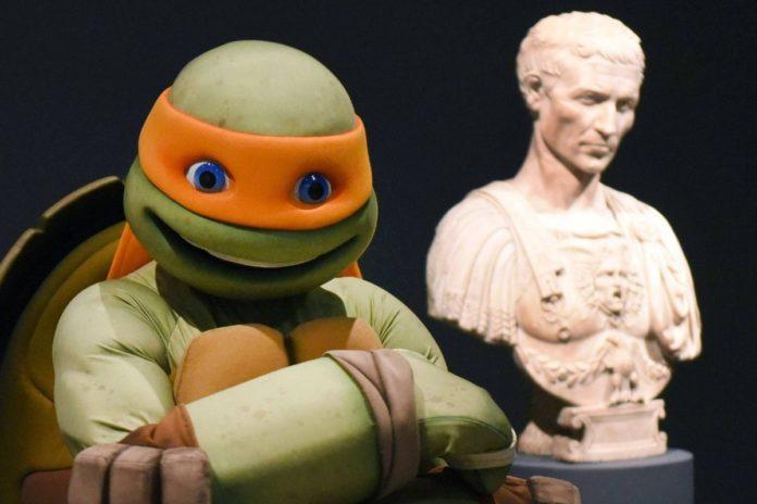 Historia: el día que Miguel Ángel, la tortuga ninja, visitó al renacentista