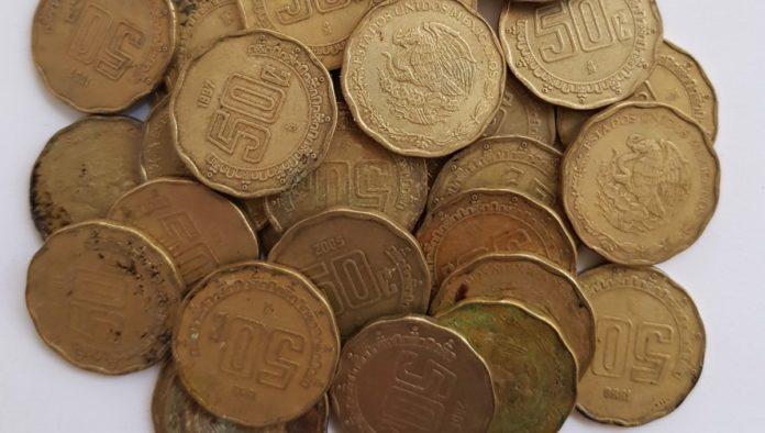 moneda de 50 centavos