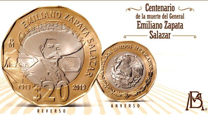 Moneda de Emiliano Zapata