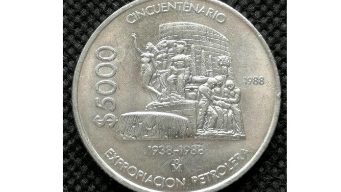 moneda de la Expropiación Petrolera