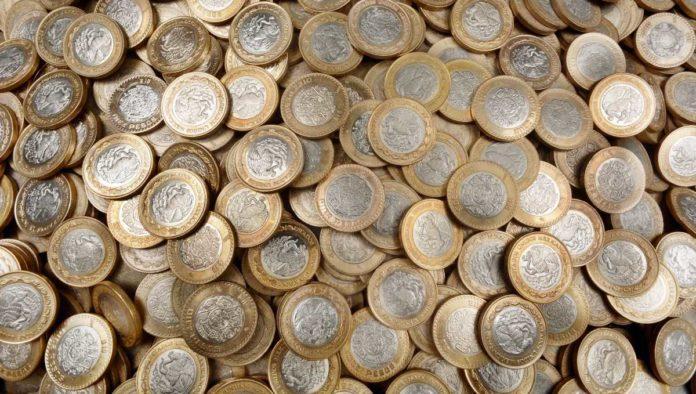 Monedas conmemorativas de 10 y 20 pesos