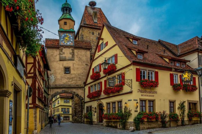 FOTOS: Rothenburg, una ciudad perfecta para el romance