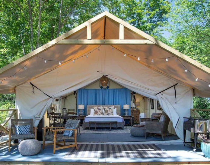 Sandy Pines Campground, el glamping con mucho estilo de Estados Unidos