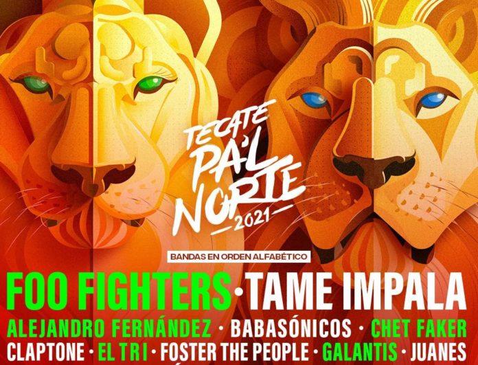 ¡Habemus cartel! Foo Fighters, Tame Impala y mucho más en Tecate Pa'l Norte 2021