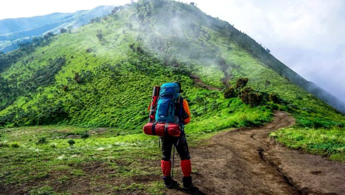 Viaje de backpack