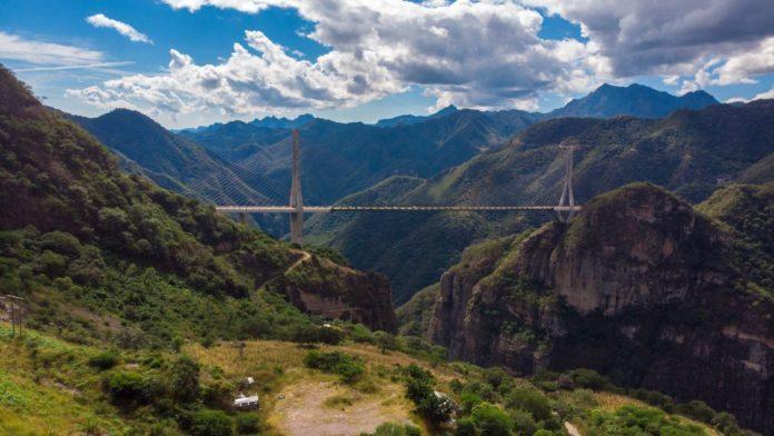 Baluarte-Bicentenario: el puente más alto de México que obtuvo un Récord Guinness