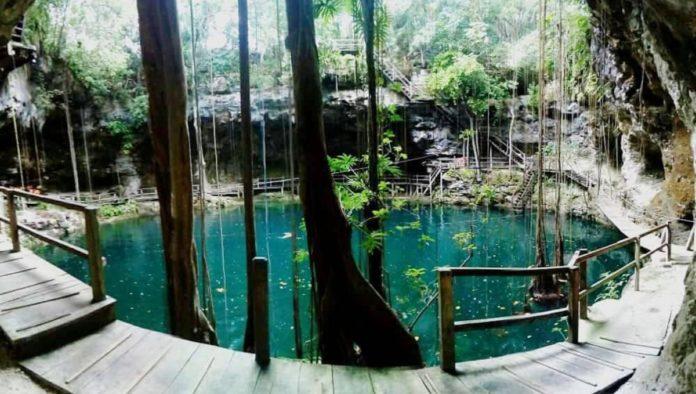 Cenote X'Canché en Yucatán