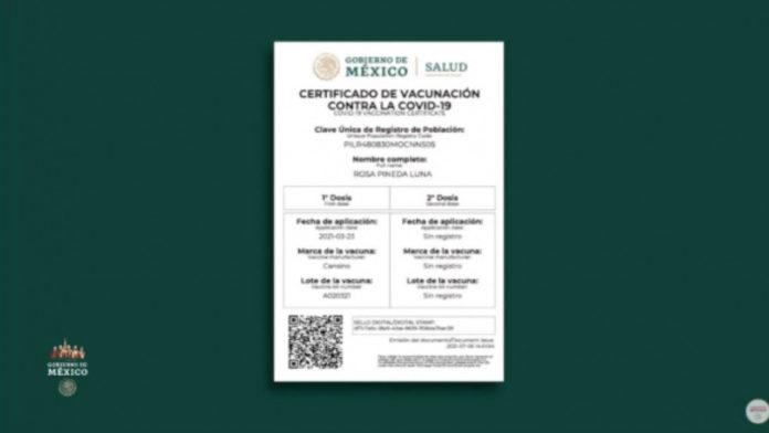 certificado de vacunación coahuila