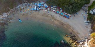 El Arrocito, una pequeña y encantadora playa de Huatulco