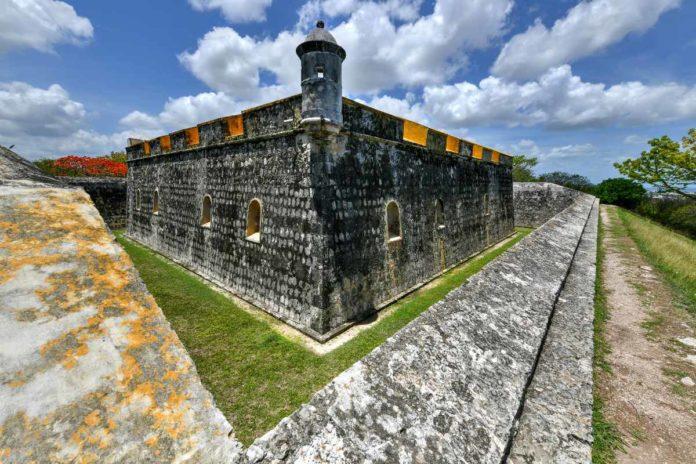 Fuerte de San José, la colorida fortaleza de Campeche