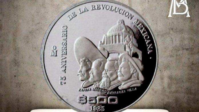 moneda de la Revolución Mexicana