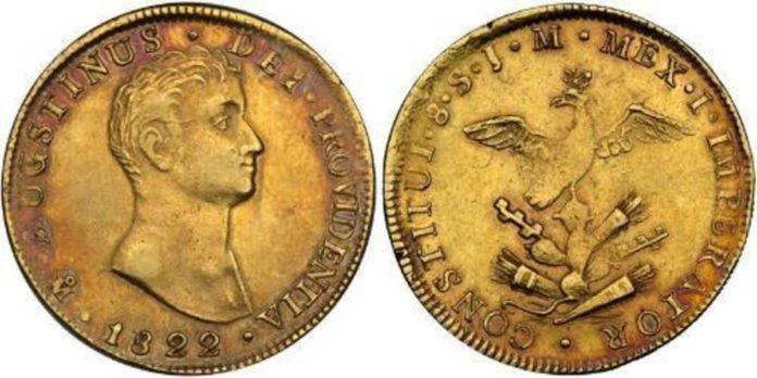 En esto se cotizan monedas de Agustín de Iturbide en sitios de comercio electrónico