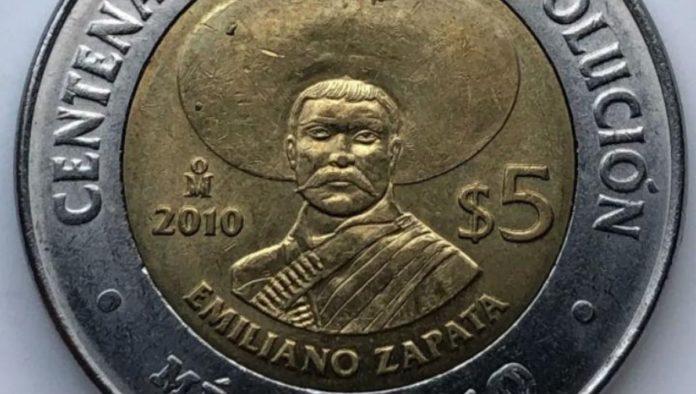 Monedas de Emiliano Zapata