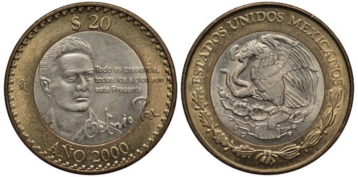monedas de Octavio Paz
