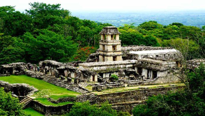 Parque Nacional Palenque en Chiapas