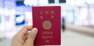 Pasaporte de Japón