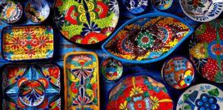 piezas de mayólica artesanía en Guanajuato