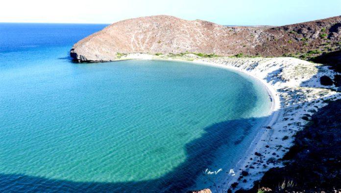Playa del Paraíso en Baja California