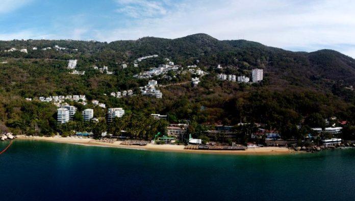 Playa Pichilingue en Acapulco