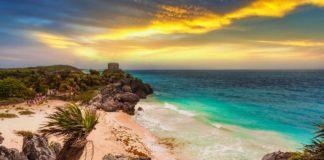 Playa Ruinas en Tulum