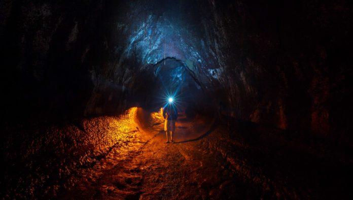 túneles de lava en el Ajusco