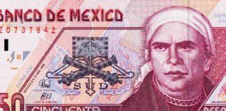 billete de 50 pesos de 1994