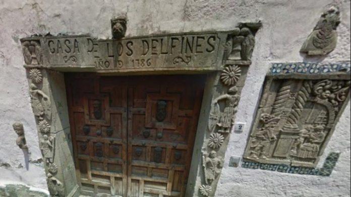 Casa de los Delfines, un monumento histórico bien guardado de San Ángel
