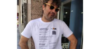 certificado de vacunación camiseta