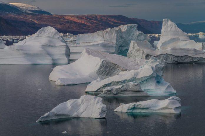 Llueve en la cumbre de Groenlandia por primera vez en 70 años