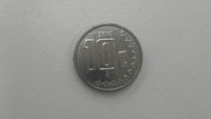 moneda de 10 centavos