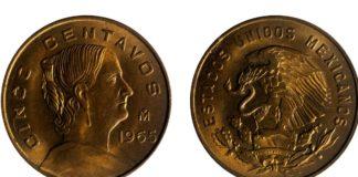 monedas de Josefa Ortiz de Dominguez
